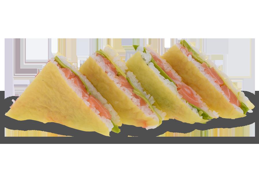 Сандвич пикантна сьомга 4 бр. - 160 гр.