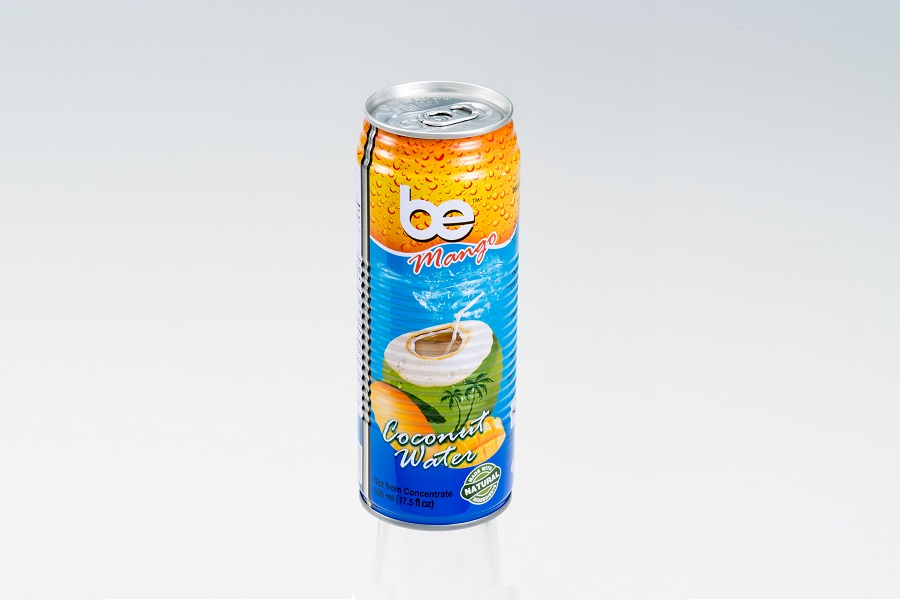 Кокосова вода с манго Be pure 0.52 л