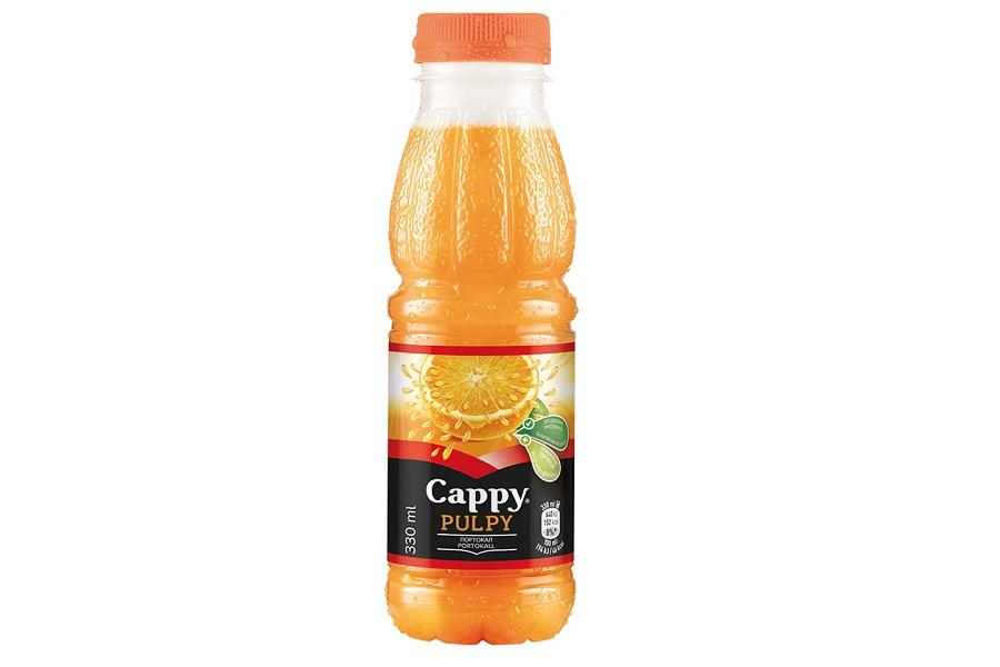 Сок Капи Портокал 0.33 л.