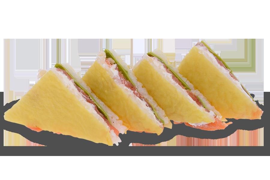 Сандвич пушена сьомга 4 бр. - 170 гр.